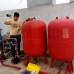Sửa hệ thống máy bơm tăng áp linh động