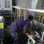 Lắp đặt hệ thống máy bơm giải nhiệt