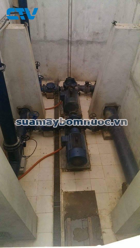Hệ thống máy bơm nước sạch tại nhà máy Yên Phong