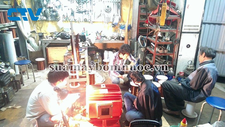 Thợ sửa bơm chuyên nghiệp tại Hà Nội