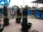 Sửa máy bơm nước thải công suất lớn thumbnail