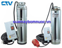 Sửa máy bơm nước hỏa tiễn pentax 6 inch