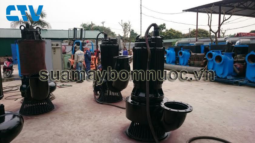 Sửa máy bơm nước thải công suất lớn