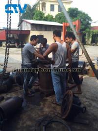 Sửa máy bơm công nghiệp Ebara giá rẻ nhất Hà Nội