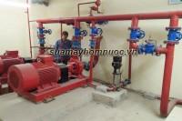 Lắp đặt hệ thống máy bơm phòng cháy chữa cháy tại Bệnh Viện Châm Cứu Trung Ương