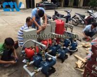 Lắp đặt hệ thống máy bơm tăng áp tại Cường Thịnh Vương