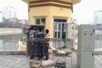Lắp đặt tủ điện cho hệ thống máy bơm cấp nước sinh hoạt tại Ba Đình
