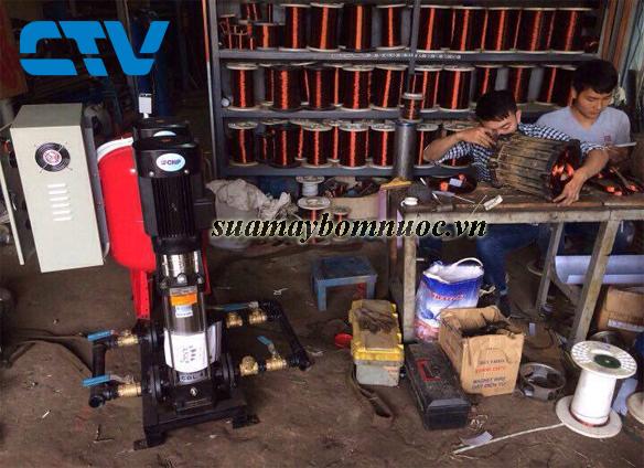 ctv-Dịch vụ sửa máy bơm nước chuyên nghiệp, giá tốt tại Hà Nội