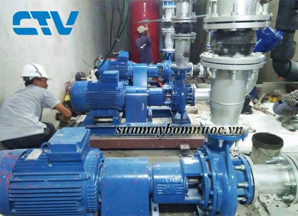ctv-Sửa máy bơm nước chạy bị nóng
