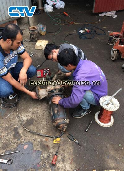 ctv-Những sự cố thường gặp của máy bơm nước-sửa máy bơm nước