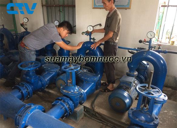 ctv-Sửa chữa máy bơm nước tận nơi cho các quý khách hàng trên toàn quốc
