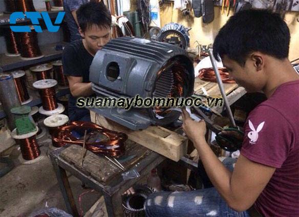 ctv-Sửa máy bơm nước công nghiệp tại Hoàng Mai-Hà Nội
