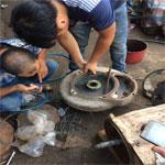 Sửa máy bơm nước bị cong trục động cơ thumbnail